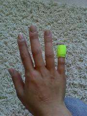 gimpy finger (Lora LA) Tags: 6282