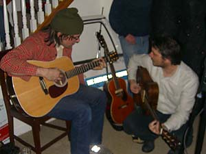 Devin Davis and Jeff Tweedy, Hotel S'n'S, February 17, 2007
