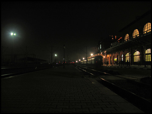 Burdujeni Train Station