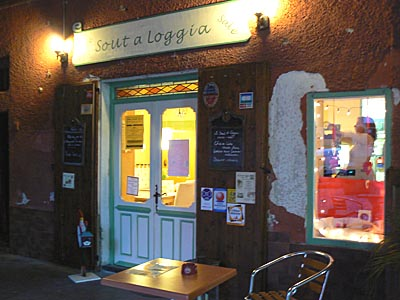 Salon de thé à Sospel