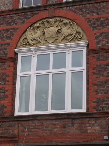 Detail of building in Lark Lane