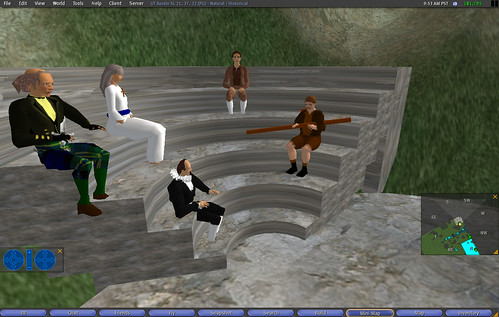 Role play in Second Life