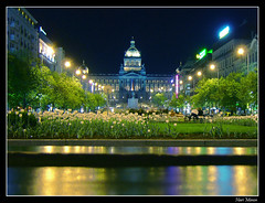 National Museum (reloaded) (Hari_Menon) Tags: street trees museum photoshop geotagged flora bravo europe nightshot tulips prague praha wenceslassquare vclavsknmst czechrepublic nationalmuseum towncentre ceskarepublika interestingness6 nrodnmuzeum interestingness19 abigfave anawesomeshot colorphotoaward impressedbeauty superbmasterpiece travelerphotos goldenphotographer favemegroup8 frhwofavs