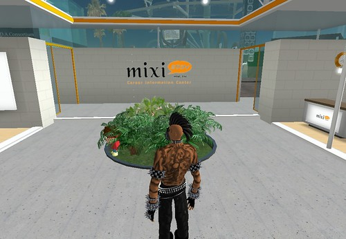 mixi in Second Life