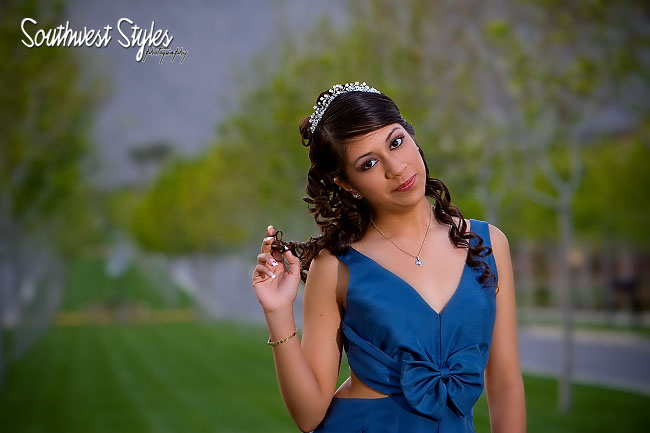 Marcela Pre Quinceanera Shoot