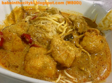nc - dry curry noodles