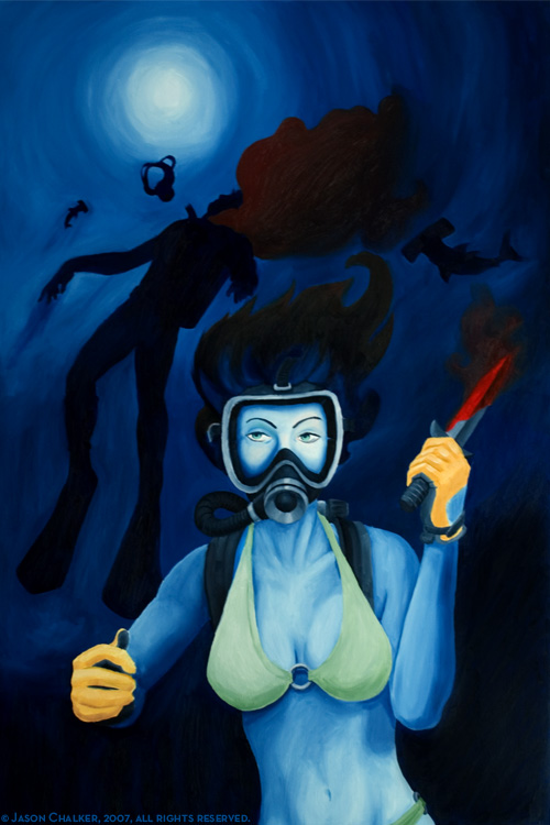 Diver Dead!