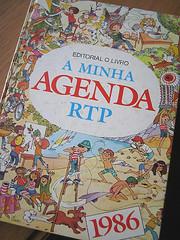 A minha agenda - 1986