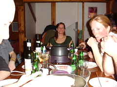 Snowboarding - Les Menuires 007 (Groodles) Tags: laura cheese fondue lesmenuires
