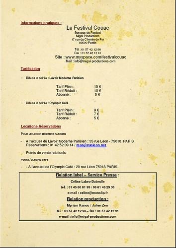 MON SLIP ET MIGALE PROD présentent le 1er festival COUAC 420366584_16a86dbf15