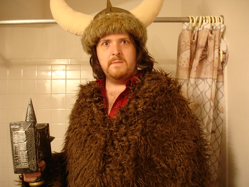 Viking in the Bathroom