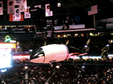 Prize Orca at GM Place