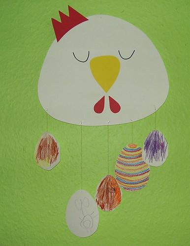 """Huhn Chicken """"Bald ist Ostern"""""""