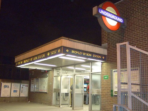 Bromley-By-Bow Tube Station by Last Rounds