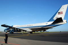 Air Force One (Vince Alongi) Tags: nikon aircraft airforceone d100 uspresident anawesomeshot boeing747200b