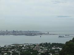 Montevideo Bay (Sam Kelly) Tags: panorama southamerica skyline river uruguay bay dock amrica cityscape vista montevideo shipping sudamerica baha rodelaplata amricadelsur ciudadcapital bahademontevideo roplatense montevideobay capitalcitiy