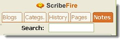 ScribeFire blogging editor!