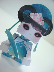 .:  Real Beauty  :. (Warm 'n Fuzzy) Tags: urban print toy designer cut paste assemble friday kiwifruit papertoy warmnfuzzynet kiwiworls