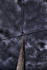 Telegraph Pole HDR