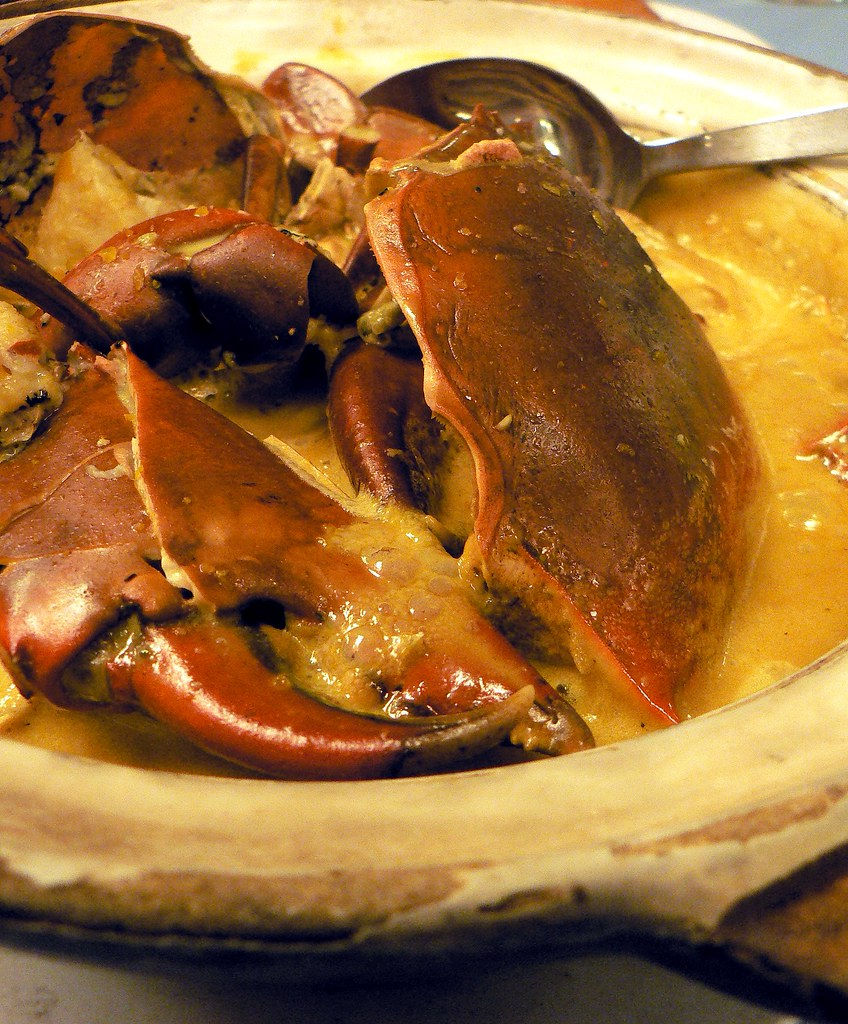 claypot butter crab