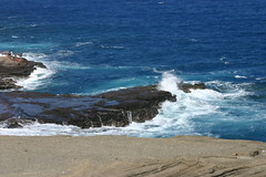 Hawaiian waters (contessacrisostomo) Tags: beach hawaii blowhole