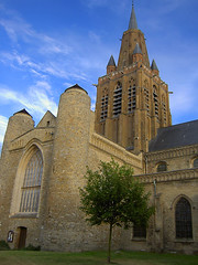Die Kirche in Calais