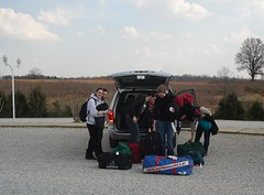 Arriving2 (Ridge Rider News) Tags: students volunteers bowdoin pchfh