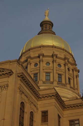 Golden Dome In Golden Light