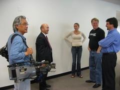 CBS 7 visits PodTech