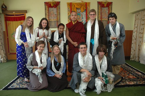 Group Photo with His Holiness the 17th Gyalwa Karmapa