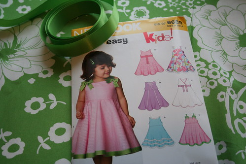 Bella's Easter Dress