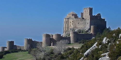 Huesca | Loarre's Romanesque castle por tochis.