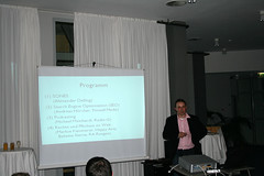 Webmontag - Programm