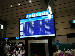 Flight information display (A. Wee) Tags: jakarta 雅加达 indonesia 印尼 cgk soekarnohatta airport 机场 terminal2 information