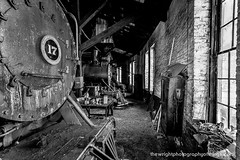 SLUMBERING GIANTS (The Wright Photography of Things) Tags: eastbroadtoprailroad steam locomotive mikado 280 roundhouse