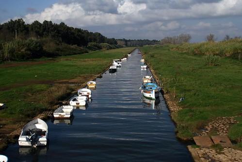 Canal in Lazio
