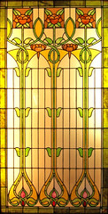 Floral Stained Glass (Atelier Teee) Tags: chicago art glass illinois stainedglass explore glassart tacomaartmuseum atelierteee terencefaircloth