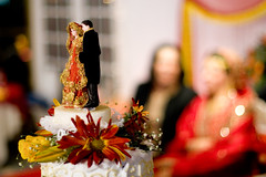 bride & groom replicas on the cake (Ali Brohi) Tags: wedding india 20d canon desi pakistani shaadi seedingchaos moazzambrohicom httpwwwmoazzambrohicom wwwmoazzambrohicom