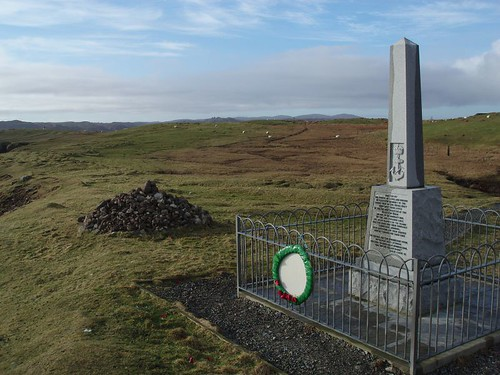 The Iolaire Memorial at Holm Point