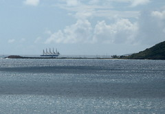 Sailing ship in Grenadines