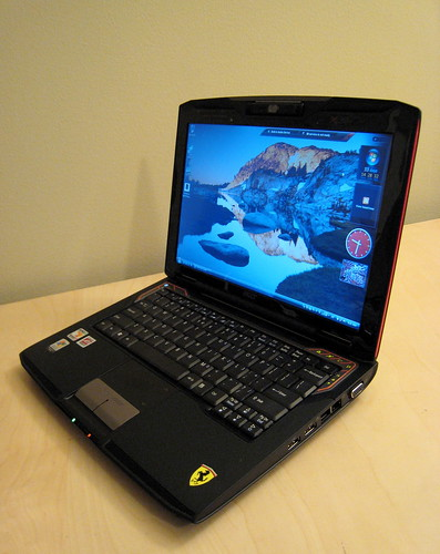 Acer Ferrari 1000 with Windows Vista