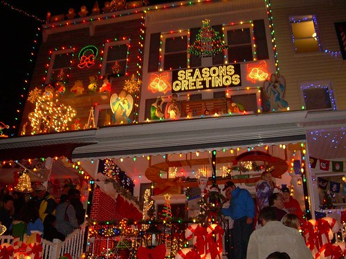 Christmas lights insanity