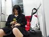 The Japaneses (Chris Kutschera) Tags: mobile japan train transport schoolgirl nikkô