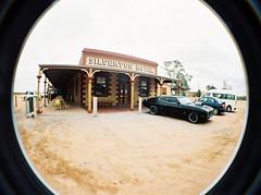Mad Max @ Silverton Hotel (pheirser) Tags: hotel lomo lomography pub silverton australia fisheye outback madmax brokenhill