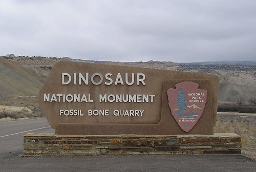 Dinosaur National Monument - Fossil Bone Quarry gateway