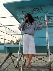 sandy feet (katherine elaine) Tags: beach lifeguardtower