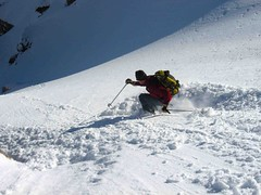 Skiing into the Spoon
