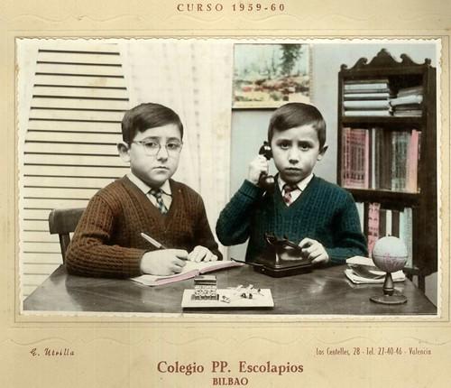 Hermanos Aguirregabiria Aguirre (los dos mayores)