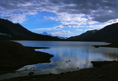 At last..... Karomber Lake, Pakistan (Kaafoor) Tags: trip travel blue pakistan summer lake beautiful beauty amazing awesome north visit best valley pakistani adeel iloveit northernarea karambar theworldsbest greaan karombar karomber karomberlake ilovetraveling ihavebeentothisplace height4272m approxlength39km width2km averagedepth52m latituden36deg530326 longitudee73deg424403 korambar karambarlake