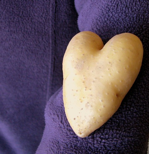 potato heart.......
